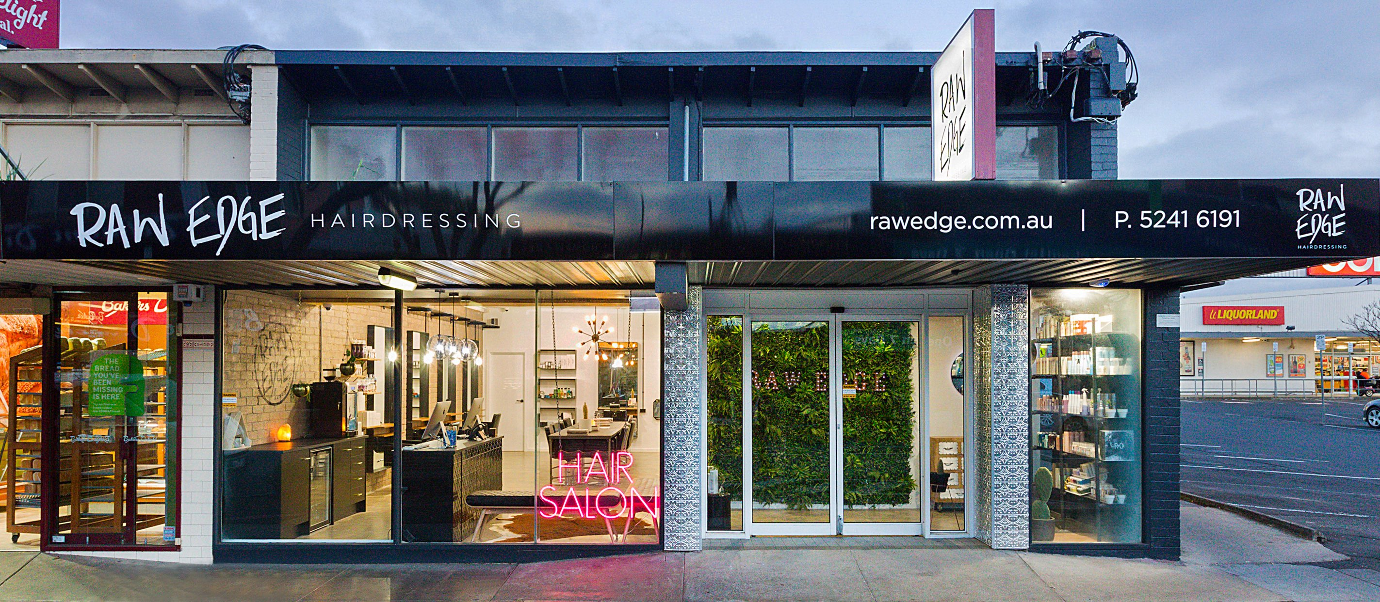 Raw Edge Hairdressing